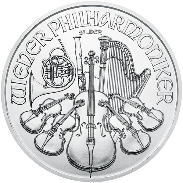 Silver Austrian Philharmonic Front